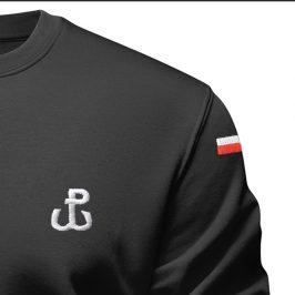Bluza patriotyczna męska – Bluza z haftem –  Polska Walcząca