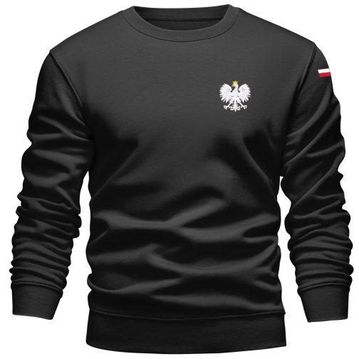 Bluza patriotyczna orzeł polski czarna