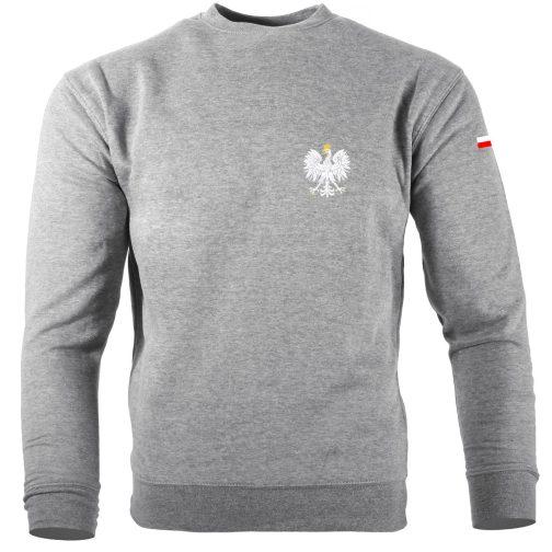 Bluza patriotyczna orzeł polski szara