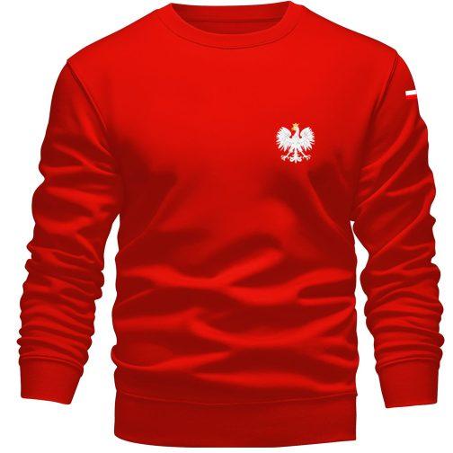 Bluza patriotyczna orzeł polski czerwona