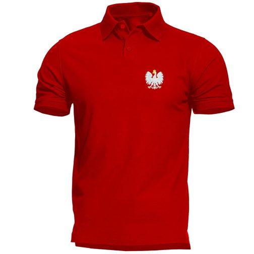 koszulka polo polówka męska patriotyczna czerwona