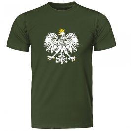 Koszulka Patriotyczna męska z Orłem Polski