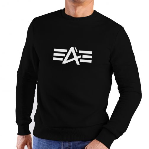 bluza alpha jak industries bez kaptura czarna