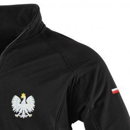 Kurtka męska softshell patriotyczna Orzeł Polski z haftem