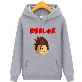 Roblox-3D Bluza z kapturem kangurka dla dziecka