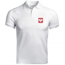 Koszulka polo z godłem Polski – męska