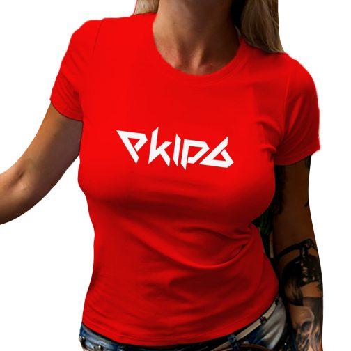 koszulka damska ekipa czerwona