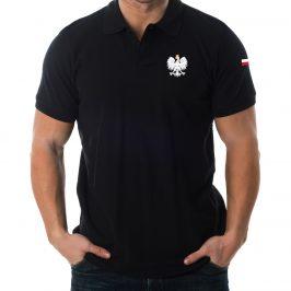Męska koszulka Polo Patriotyczna z orłem Polski
