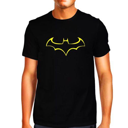 koszulka męska z batmanem batman t-shirt czarna