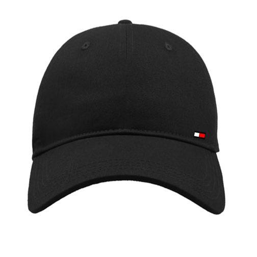 czapka z daszkiem bejsbolówka tommy czarna
