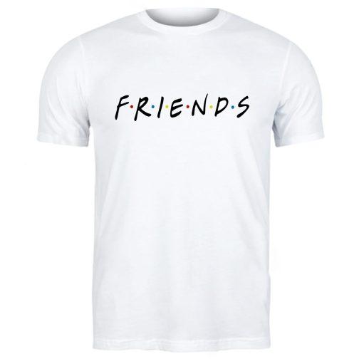 męska koszulka t-shirt friends przyjaciele biała