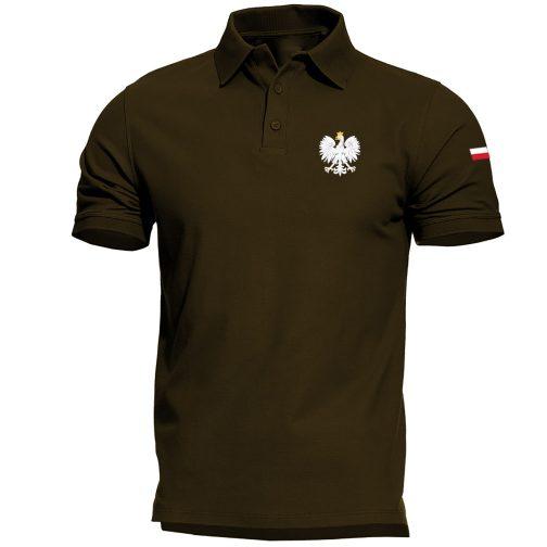 koszulka polo z orłem polski orzeł męska czarna zielona wojskowa