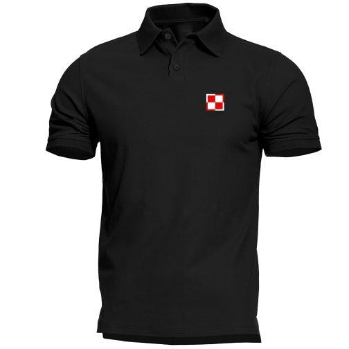 Koszulka polo patriotyczna - Szachownica Lotnicza