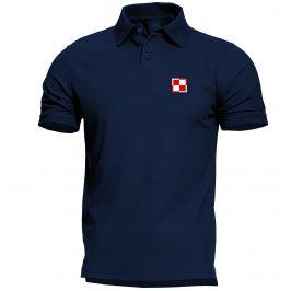 Męska koszulka Polo Patriotyczna z szachownicą lotniczą