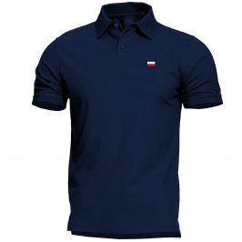 Męska koszulka Patriotyczna Polo z flagą Polski