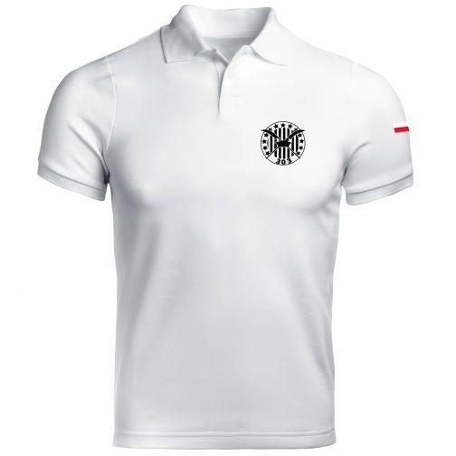 biała Koszulka polo patriotyczna - Dywizjon 303