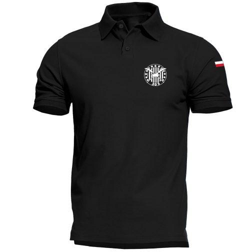Koszulka polo patriotyczna - Dywizjon 303 czarna