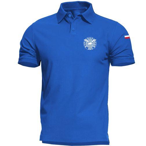 niebieska Koszulka polo patriotyczna - Dywizjon 303
