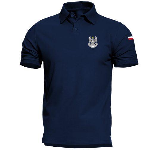 Koszulka polo patriotyczna - Wojska obrony terytorialnej WOT militarna wojskowa granatowa