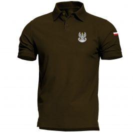 Męska koszulka polo wojskowa – wojska obrony terytorialnej – WOT