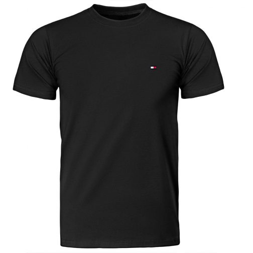 Koszulka męska Tommy - czarna T-shirt męski