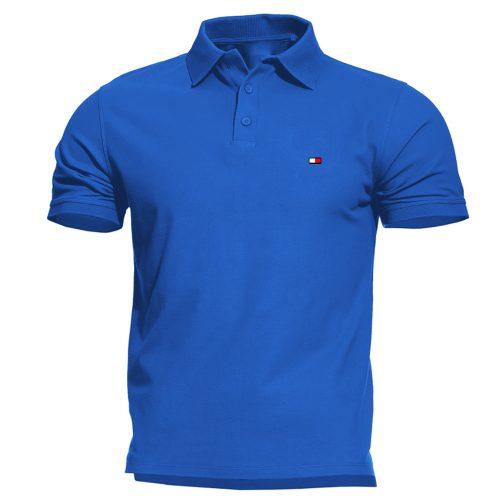 koszulka polo tommy black męska niebieska