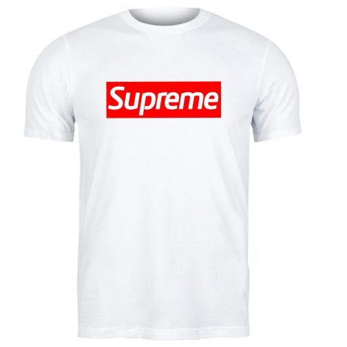 koszulka męska supreme biała