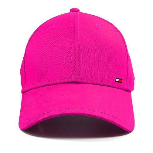 czapka z daszkiem bejsbolówka tommy różowa