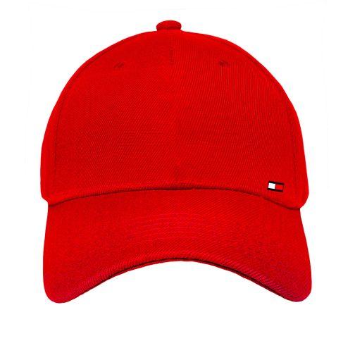 czapka z daszkiem bejsbolówka tommy czerwona