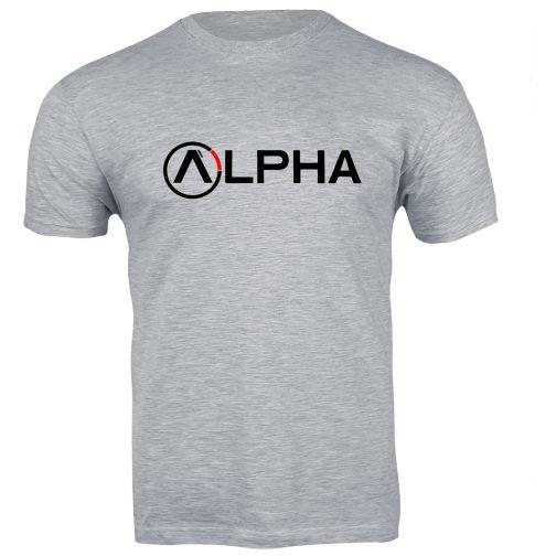 męska koszulka alpha t-shirt industries szara