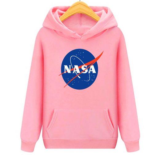 bluza nasa dziecka dzieci kapturem różowa