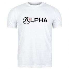 Alpha – męska markowa koszula – t-shirt