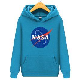 Nasa Bluza dla dziecka z kapturem kangurka