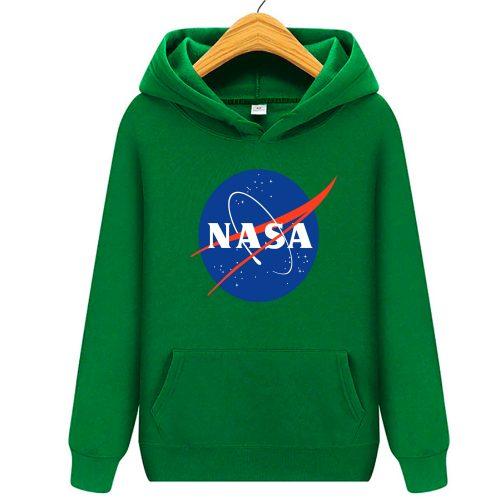 bluza nasa dziecka dzieci kapturem zielona