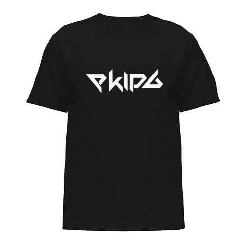 Koszulka ekipa ekipy dziecka czarna