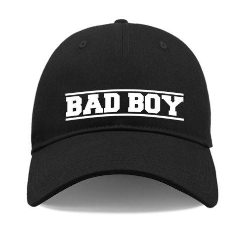 Czapka z daszkiem Bad Boy – zły, niegrzeczny chłopiec - bejsbolówka męska czarna
