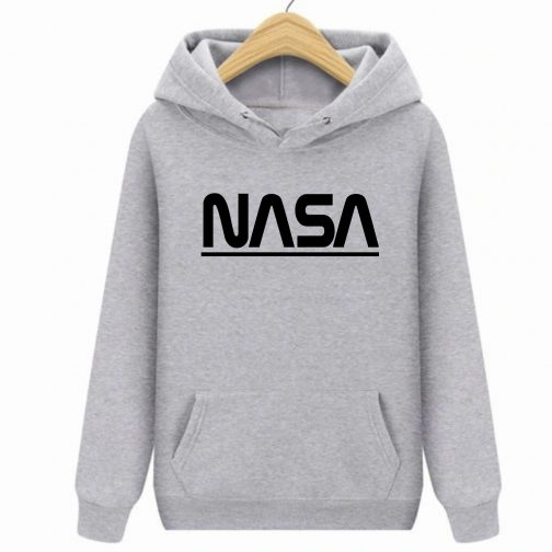 Bluza dziecięca szara NASA z kapturem kangurka PREMIUM wys. PL
