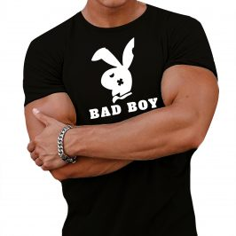 Bad Boy – zły, niegrzeczny chłopiec – męska koszula – t-shirt Bad boys