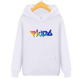 Ekipa kolorowa bluza z kapturem kangurka dla dziecka – Hit