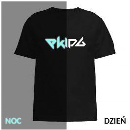 Ekipa t-shirt koszula świecąca w ciemności dla dziecka