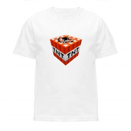 Minecraft TNT- Koszulka t-shirt dla dziecka