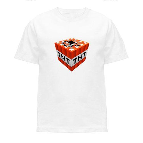 koszulka minecraft t-shirt chłopca dziewczynki dziecka czarna