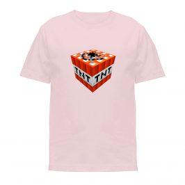 Koszulka Minecraft TNT – t-shirt dla dziewczynki