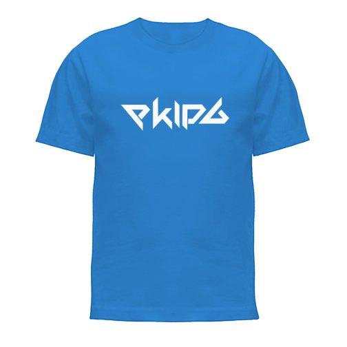 Koszulka niebieska t-shirt Ekipa dla dziecka