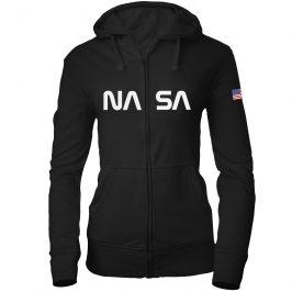 NASA – bluza damska rozpinana z kapturem
