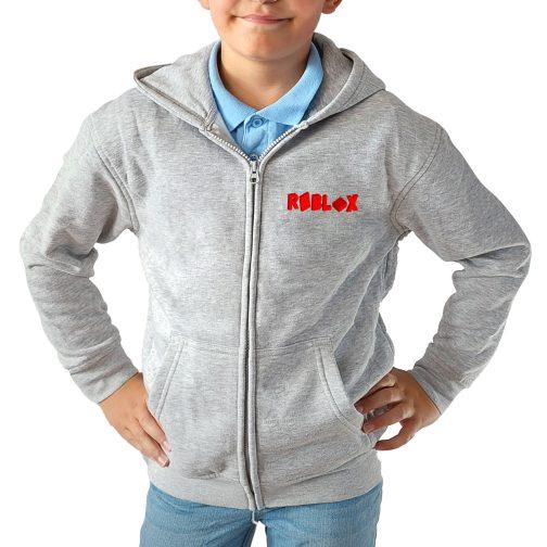 bluza dla dzieci dziecka roblox szara