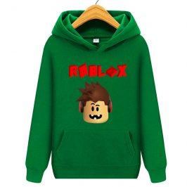 Bluza z kapturem kangurka dla dziecka – Roblox – 3 zęby