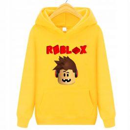 Bluza z kapturem kangurka dla dziecka – Roblox