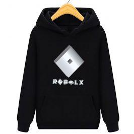 Bluza Roblox 3D silver – bluza dla dziecka – z kapturem