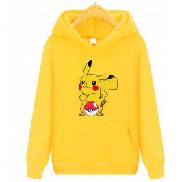 Bluza Pikachu – bluza z kapturem dla dzieci